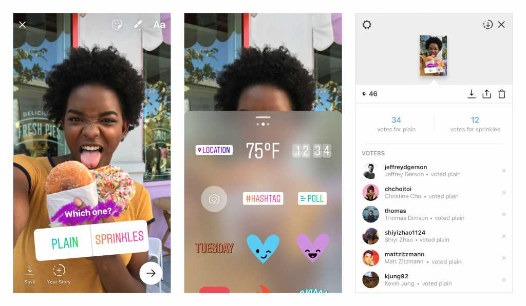 Survey stickers Story Ads for Instagram