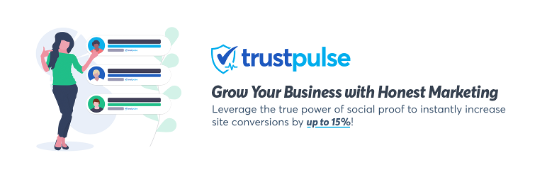 Trust Pulse for woocommerce